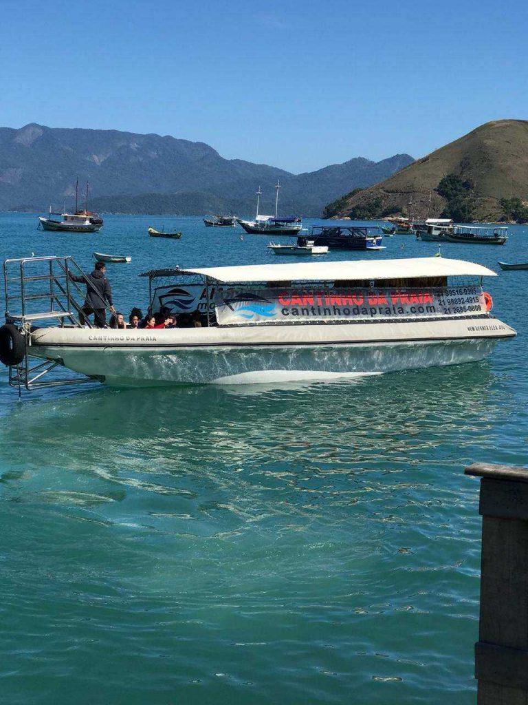 Barco para Ilha Grande
