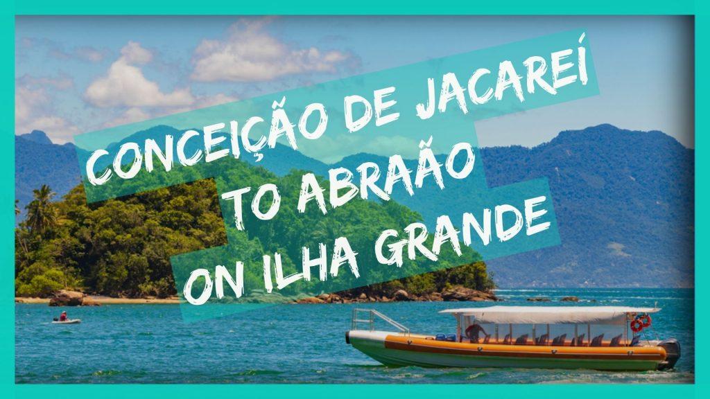Conceicao de Jacarei boat to Abraao