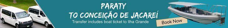 Transfer Paraty to Conceicao de Jacarei