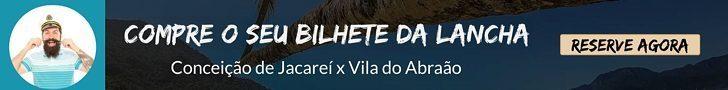 lanchas de Conceição de Jacareí para Vila do Abraão